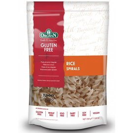 Orgran pâtes de riz, spirale, 250 grammes