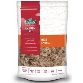 Orgran Rice pasta, spiral, 250 grams