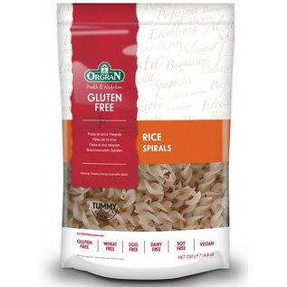 Orgran Pâtes de riz sans gluten, spirale, 250 grammes