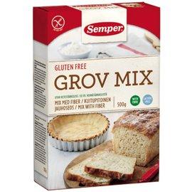Semper vezelrijke broodmix (grov)