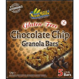 SamMills Chocolate chip granola barer