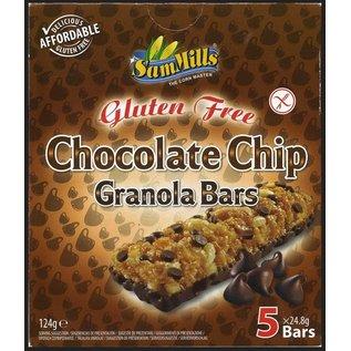 SamMills Chocolate chip granola barer