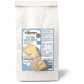 Consenza Hvidt brød mix - 5 kg