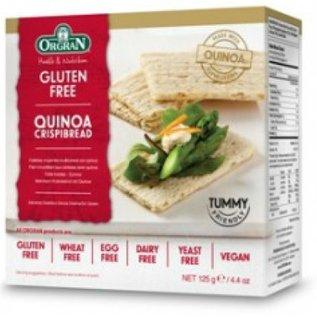 Orgran Knäckebröd meergranen quinoa 125 gram
