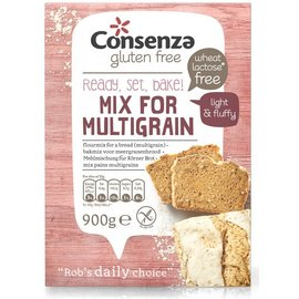 Consenza Multicereali mix pane - 900g