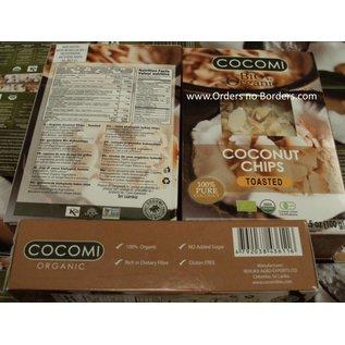 des copeaux de coco