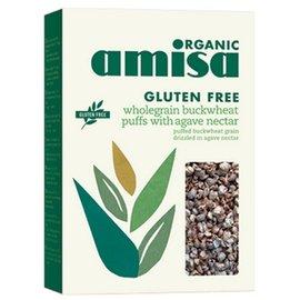 Amisa Puffed boghvede med økologisk agave
