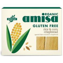 Amisa Wafels - rijst maïs 6x25 gram