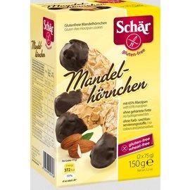 Schar Almond horns - marzipan 2 x 75 grams