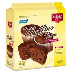 Schar Chokolade muffins - 260 gram
