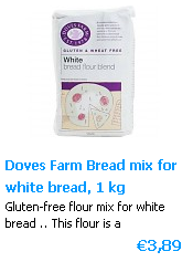 White bread mix Glutenfree 1000 g Doves Farm