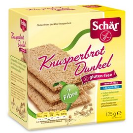 Schar Knackebrood Donker - Meergranen - 125 gram