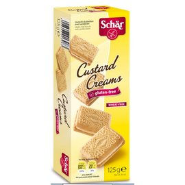Schar Biscuits Custard Cream - 5 x 25 gram