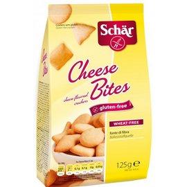 Schar Käsebissen