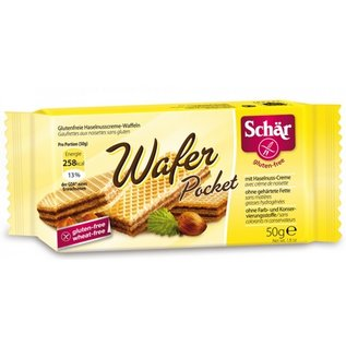 Schar Wafer Haselnuss - Portionspackung