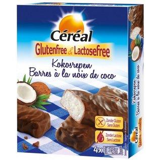 Céréal Bars de noix de coco - 4 x 25 grammes