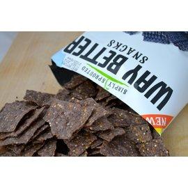 Way Better chips Chips bio - fagiolo nero tortillas di mais