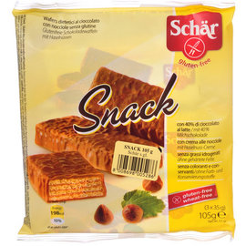 Schar Chocoladewafels Hazelnoot - 105 gram