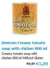 Tomatensuppe - Tomato soup Glutenfree
