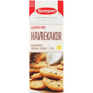 Semper Havregryn Cookies - 150g