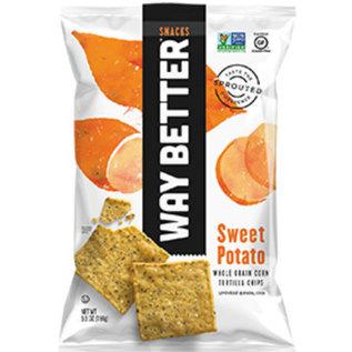 Way Better chips Bio-Kartoffelchips - Süßkartoffel Mais-Tortillas