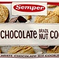 Semper Cookies hvid chokolade paranødder - 150 gram