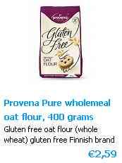 Farina di Avena senza glutine - Certified GF Oat flour Finnland