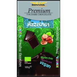 Bon Vita Mørk chokolade hasselnød, organisk