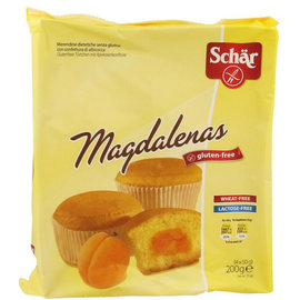 Schar Magdalenas Cupcakes - 4x 50g