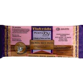 Tinkyáda Bruine rijst spaghetti - 454 gram