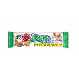 20 X Protein bar cashew tranebær
