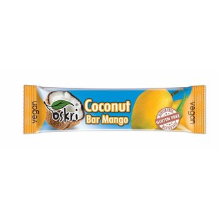 Oskri Coconut mango bar