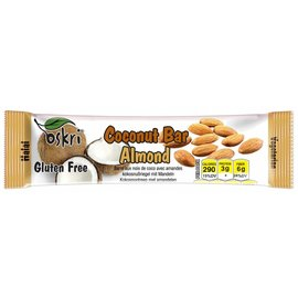 Coconut mandel bar