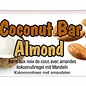 Coconut mandel bar