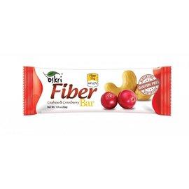 Fiber bar anacarde canneberges