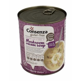 Consenza Cremige Pilzsuppe - 800 ml