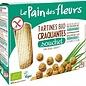 Le pain des fleurs Nature Almond crackers Bio