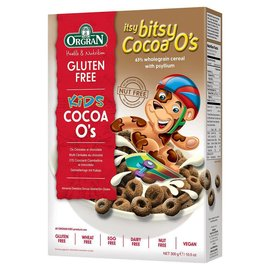 Orgran Itsy bitsy breakfast cocoa O's
