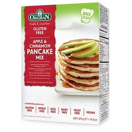 Orgran Apple cinnamon pancake mix