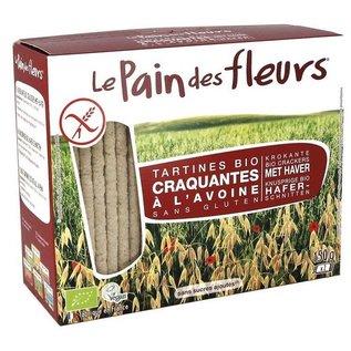 Le pain des fleurs biscuits d'avoine Bio - 2 x 75 g