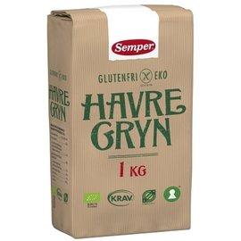 Semper Havre Økologisk - 1000 gram