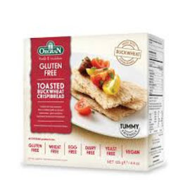 Orgran Sarrasin Crackers - 125g
