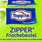 Toppits Pockets with Zipper Closure, 3 liter, 10 pcs in box