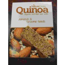 Nature Crops Quinoa reep - Bio - Amandel sesamzaad