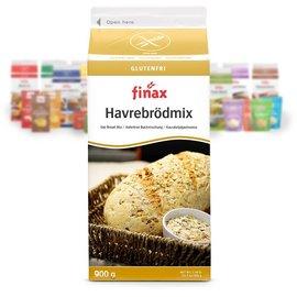 Finax Oat bread mix - yellow