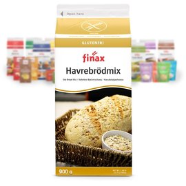 Finax Oat mix pane - giallo