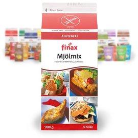 Finax Breadmix hvid-rød - 900 g