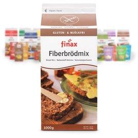 Finax Broodmix vezelrijk - 1000 gram