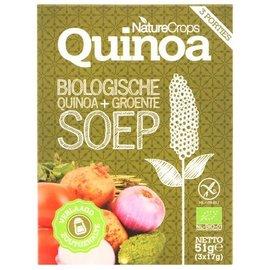 Nature Crops Quinoa + Groentesoep Bio 3 porties