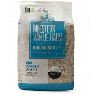 De Halm Rice flakes, organic, 500 grams